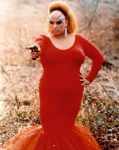 The divine Divine (Pink Flamingos - 1972).