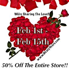 ❤️ WE'RE SHARING THE #LOVE ❤️50% OFF THE ENTIRE STORE‼️FROM FEBRUARY 1⃣ TO FEBRUARY 1⃣4⃣ AT MIDNIGHT - ❤️www.iDealyYours.com❤️  #iDealyYours #SexybackBoutique #monday #mondays #mondayfunday #MondayMorning #MondayNight #MondayMotivation #mondaymadness #fashion #cute #hot #sexy #loveit #Yoga #Gym #Fitness #gear #awesome #best #cool - ❤️CHECK OUT iDealyYours.com FOR:❤️ #leggings #legging #leggins #Bodysuits #Swimsuits #heels #shoes #booties