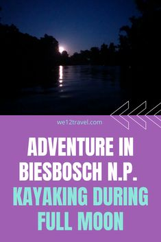 Are you looking for a unique adventure in The Netherlands? Then you can make a full moon kayaking tour in Biesbosch / NLDelta National Park. Find out more here! #visitholland #nldelta