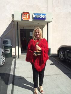 Hiding the #Emmy - Yes, I have one of those on my mantel :)