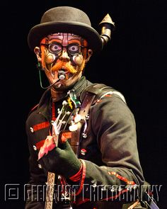 Hatchworth of Steam Powered Giraffe. SPG