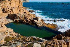 "Cristina Clara Photography: The walkway of Aiguablava Platja Fonda (Begur) - Cala N'Estasia and ""natural"" pool d'es Cau"