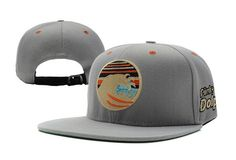 Pink Dolphin Tidal Wave Strapback Gray 6907