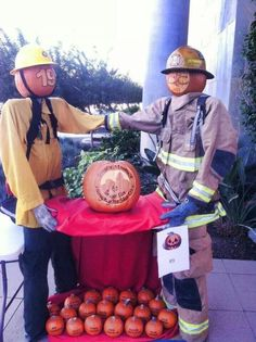 Chandler firefighters pumpkin carving contest Firefighter Halloween, Pumpkin Carving Contest, Firefighters, Halloween Stuff, Holiday Decorating, Party Time, Holidays, Fall, Firemen