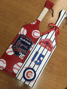 sigma kappa baseball league of our own Cubs World Series paddle ideas frat srat crafts arts big and little