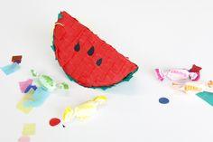 Mini Watermelon Piñata tutorial - Kitiya Palaskas