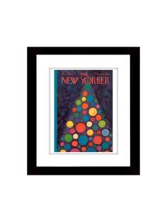 New Yorker Cover - 12/20/1969 - Gilt Home