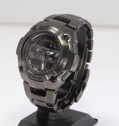 【楽天市場】【CASIO】カシオ G-SHOCK Gショック MR-G MRG-7700B-1BJF チタニウム ソーラー電波 メンズ腕時計 箱・保証書・余り駒付【中古】:CLOSER