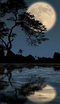 Fabulous Full Moon Photography To Keep You Fascinated - Bored Art Shoot The Moon, Moon Photos, Moon Pics, Images Of Moon, Full Moon Pictures, Pictures Images, Bing Images, Moon Photography, Moonlight Photography