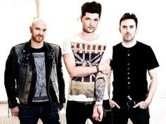 The Script with Danny showing off if tat