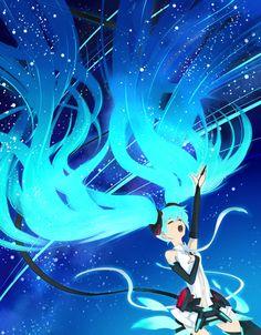 Tanabata Galaxy Miku by ~kappateki on deviantART
