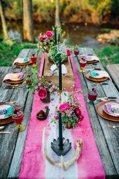 60 wedding finds from etsy artists we love wedding tables bohemian forest wedding brides of adelaide magazine junglespirit Gallery