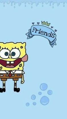 Bff, wallpaper, and background image shared by enyo. find images and videos about Best Friend Wallpaper, Cartoon Wallpaper Iphone, Disney Phone Wallpaper, Couple Wallpaper, Cute Cartoon Wallpapers, Wallpaper Ideas, Wallpaper Spongebob, Wallpaper Quotes, Spongebob Best Friend