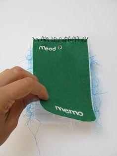 Mead Memo Pad (green