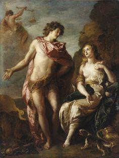 Bacchus et Ariane ou l'Automne, par Charles de La Fosse. Ce tableau fait partie d'une série de quatre tableaux peint pour le salon du château de Marly (1699). Dijon, Musée des Beaux-Arts.   © MUSÉE DES BEAUX-ARTS DE DIJON/PHOTO FRANÇOIS JAY