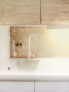 my first kitchen was plywood - all we could afford. Who knew it would be fashionable one day? Plywood kitchen