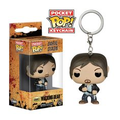 Walking Dead Daryl Dixon Pop! Vinyl Figure Key Chain