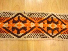 Faja pampa #EntreUrdimbresyTramas Weaving, Textiles, American, Blog, Home Decor, Girdles, Weaving Looms, Argentina, Creativity