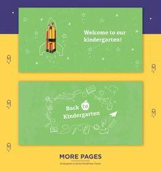 Edukid - Kindergarten & Education Theme - ModelTheme Kindergarten Themes, Singles Events, Language School, Event Page, Training Center, Event Calendar, Quizzes, Wordpress Theme, Infographic