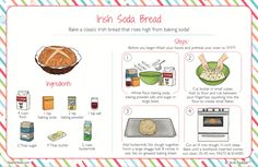Happy St. Patrick's Day! Celebrate by making this Raddish Irish Soda Bread!