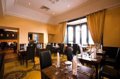 Fahrenheit Grill Restaurant at Clontarf Castle Hotel Homemade Pastries, Grill Restaurant, Romantic Meals, No Cook Meals, Grilling, Castle, Lounge, Drink, Eat