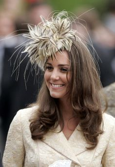 Kate Middleton, Duchess of Cambridge. I love this hat!