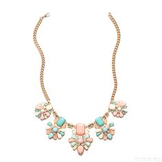 Stitch Fix Style | This Just In: Selana Gem and Crystal Necklace