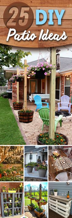 Is your patio going to waste? Both the front and back porches of the house are so often ignored, left empty or barely utilized. What do you have on your own veranda? Maybe a plastic chair, or two? An ugly old table you never use? Nothing at all? If you aren't taking the chance to use up that s...