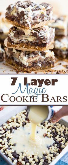 7 Layer Magic Cookie Bars | eviltwin.kitchen