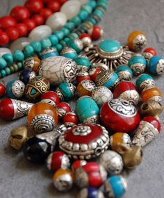 beads from tibet