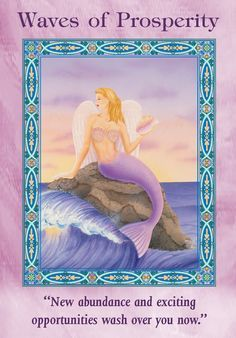 Oracle Card Waves Of Prosperity | Doreen Virtue - Official Angel Therapy Website