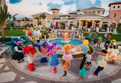 Character parades are our favorite. | Beaches Resorts | Turks & Caicos #BeachesMoms