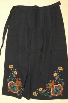 DigitaltMuseum - Forkle Folk Costume, Costumes, Nordic Fashion, Going Out Of Business, Nordic Style, Norway, Greek, Embroidery, Patterns