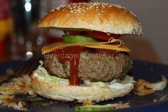 Piftet burgerbøffer |
