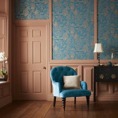Starting the morning with Basuto Teal Wallpaper. Combining jewel teal backdrop with copper metallic highlighting an oriental scene depicting triumph, with exploding fireworks over picturesque buildings and trees. Oriental Wallpaper, Teal Wallpaper, Wallpaper Please, Luxury Wallpaper, Blue Wallpapers, Room Wallpaper, Classic Wallpaper, Wallpaper Suppliers, Teal Walls
