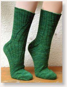 Ravelry: BrigitteR's Green Portland Gussets