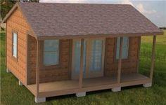 16x20 storage building plans
