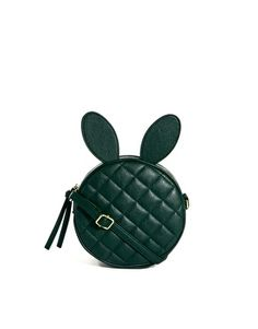 ASOS Quilt Across Body Bag With Rabbit Ears