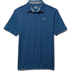 Under Armour Charged Cotton Scramble Golf Polo in Royal as seen on Jordan Spieth