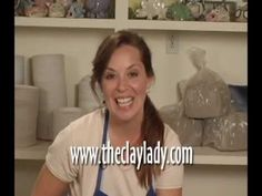 ▶ Danielle ~ The Clay Lady - Introduction to the Potters Wheel - YouTube