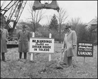 A home made famous in the 1948 mega hit Mr Blandings Builds His Dream House is in Ottawa Hills, Toledo, Ohio.