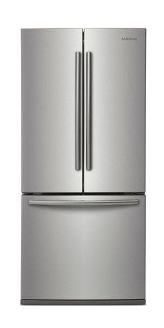 21.6 cu. ft. French Door Refrigerator in Stainless Steel