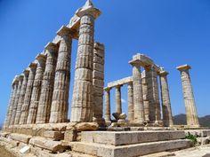 Poseidon's temple Cape Sounio