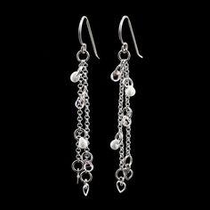 Loving in Sterling Silver - Dangle Earring Kit or Ready Made – Creating Unkamen #WireJewleryIdeas