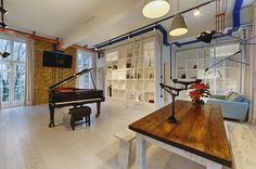 Great #entertainment/#living space in a Covent Garden listed property. #London.