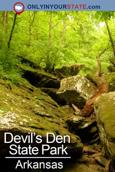 Travel | Arkansas | Attractions | Outdoors | Nature | Scenic Hikes | Trails | Hiking | USA | Road Trips | Place To Visit | Adventure | Natural Wonders | Middle Earth | Narnia | Devil's Den State Park | State Parks | Arkansas State Parks | Yellow Rock | USA
