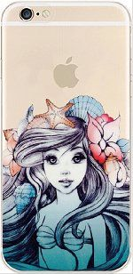 iPhone 6 Case, DECO FAIRY® Protective Case Bumper[Scratch-Resistant] [Perfect Fit] Ultra Slim Translucent Silicone Clear Case Gel Cover for Apple iPhone 6 (blue mermaid) DECO FAIRY® http://www.amazon.com/dp/B013SETW1C/ref=cm_sw_r_pi_dp_tf3Mwb1T7R5YZ