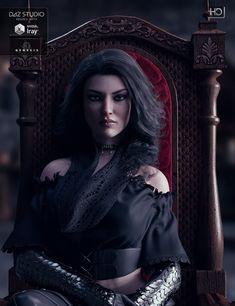 Jenn HD for Victoria 7 by Kayleyss on DeviantArt Fantasy Women, Dark Fantasy Art, Fantasy Artwork, Creative Inspiration, Character Inspiration, Character Art, Character Design, Character Ideas, The Witcher Geralt