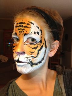 Face Painting for your Event's Entertainment Ventura & LA counties Tiger Face Paints, Jungle Animals, Creative Words, Face And Body, Body Painting, Photo And Video, Tigers, Beautiful, Board