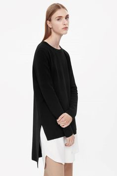 COS | Jumper with longer back